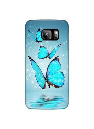 People's Cover Galaxy S7 Edge Baskılı Telefon Kılıfı Renkli